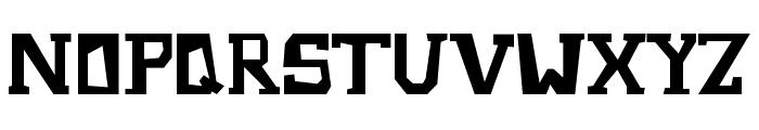Metrostruct Font UPPERCASE