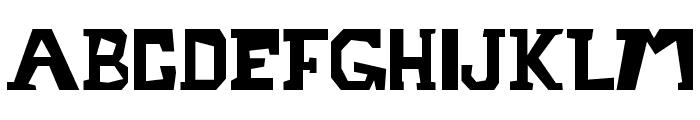 Metrostruct Font LOWERCASE