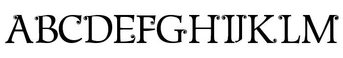 Metshige Normal Font UPPERCASE