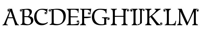 Metshige Normal Font LOWERCASE
