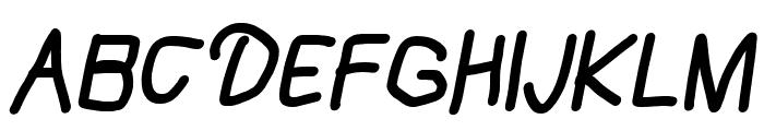 Mew? Black Italic Font UPPERCASE