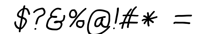 Mew? Bold Italic Font OTHER CHARS