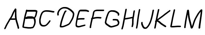 Mew? Bold Italic Font UPPERCASE