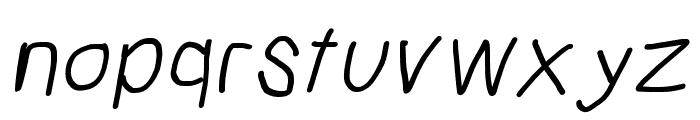 Mew? Bold Italic Font LOWERCASE