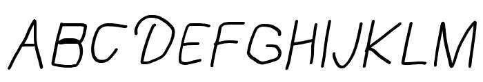 Mew? Italic Font UPPERCASE