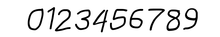 MewTooHand Bold Italic Font OTHER CHARS