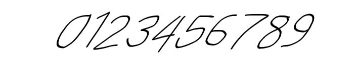 MewTooHand UltimateItalic Font OTHER CHARS