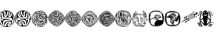 MexiKOrnaments Font UPPERCASE