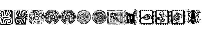 MexiKOrnaments Font LOWERCASE