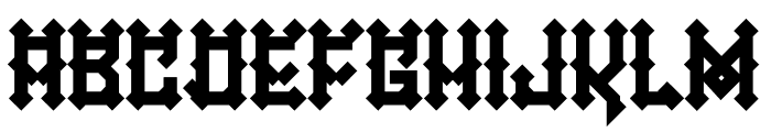 Mexica Gothic Font UPPERCASE