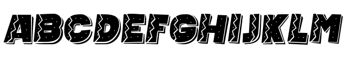 Mexican Tequila Italic Font LOWERCASE