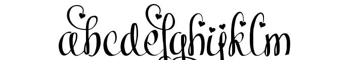 Meybi Font LOWERCASE