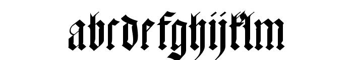 Meyne Textur Font LOWERCASE