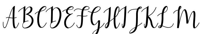 Mezabetto Font UPPERCASE