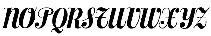 MezclaTitan Font UPPERCASE