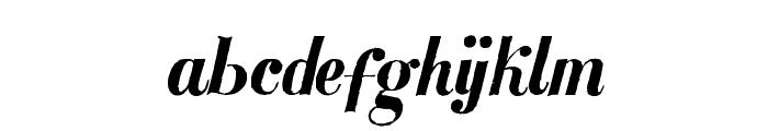 MezclaTitan Font LOWERCASE