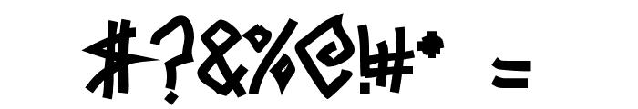 Mezzotick Font OTHER CHARS