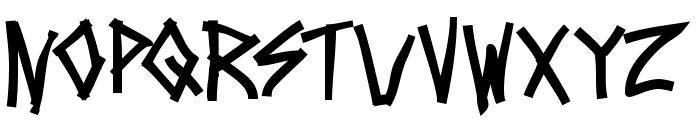 Mezzotick Font UPPERCASE