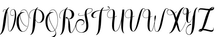 meliscademo Font UPPERCASE