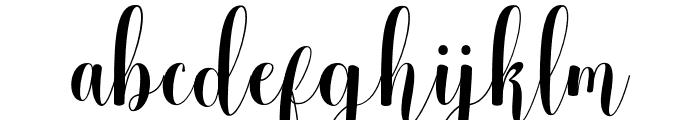 meliscademo Font LOWERCASE