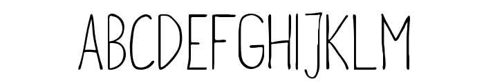 metafors-Regular Font UPPERCASE