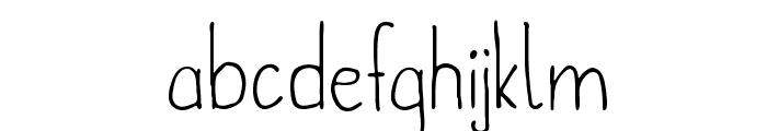 metafors-Regular Font LOWERCASE