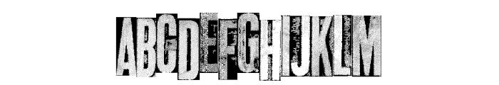 metalblocktango Font LOWERCASE