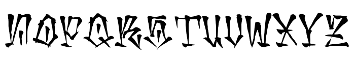 mexaking Font UPPERCASE
