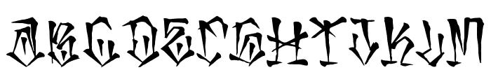mexaking Font LOWERCASE