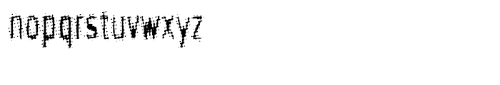 Meanstreak Regular Font LOWERCASE