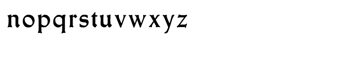 Meister Antiqua Bold Font LOWERCASE