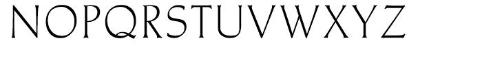 Meister Antiqua Book Font UPPERCASE