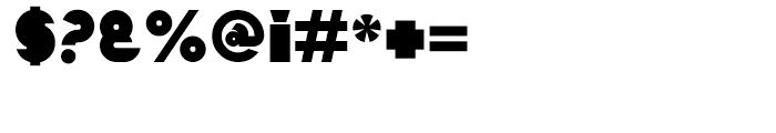 Mekon Alternate Font OTHER CHARS