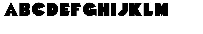 Mekon Alternate Font UPPERCASE