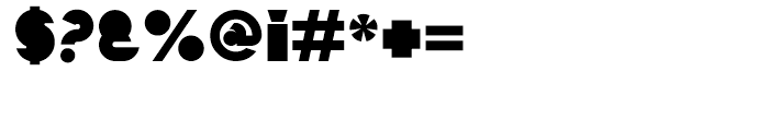 Mekon Block Alternate Font OTHER CHARS