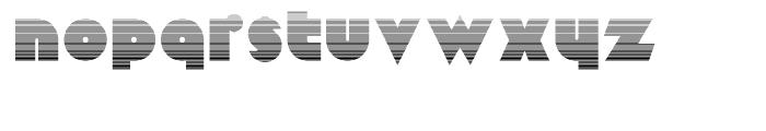Mekon Gradient Font LOWERCASE