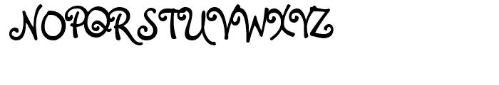 Melanie BT Roman Font UPPERCASE