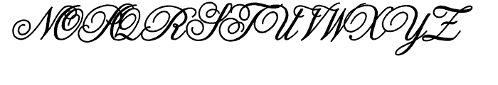 Melany Lane Bold Font UPPERCASE
