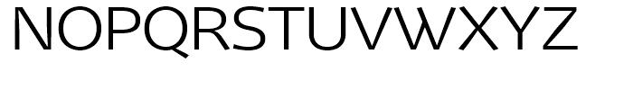 Mellnik ExtraLight Font UPPERCASE