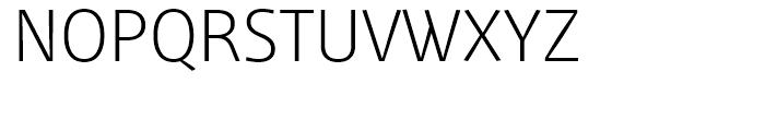 Mellnik Text SuperLight Font UPPERCASE