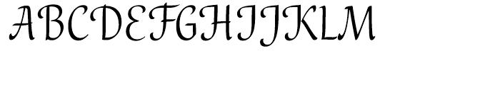 Melody Regular Font UPPERCASE