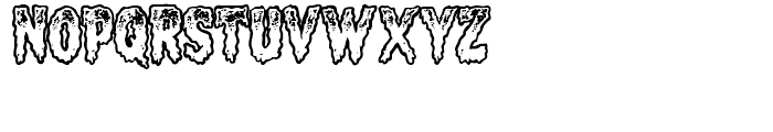 Meltdown Open Font UPPERCASE
