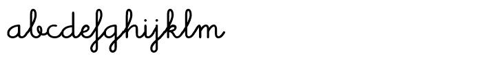 Memimas Bold Alternate  Ligatures Font LOWERCASE