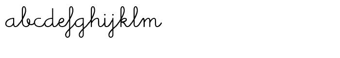 Memimas Medium Alternate  Ligatures Font LOWERCASE