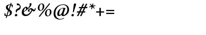 Mengelt Basel Antiqua Bold Italic Font OTHER CHARS
