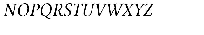 Mengelt Basel Antiqua Italic Font UPPERCASE