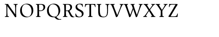 Mengelt Basel Antiqua Regular Font UPPERCASE
