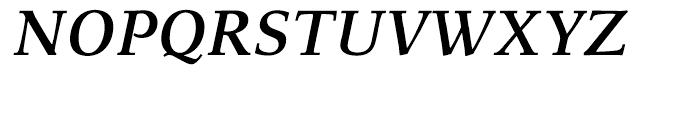 Menhart Bold Italic Font UPPERCASE