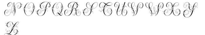 Menina Graciosa 1 Font LOWERCASE