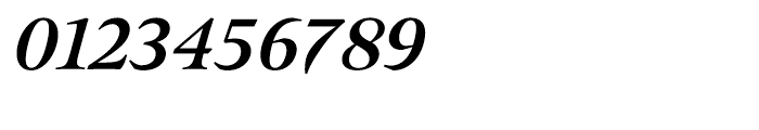 Meno Bold Italic Font OTHER CHARS